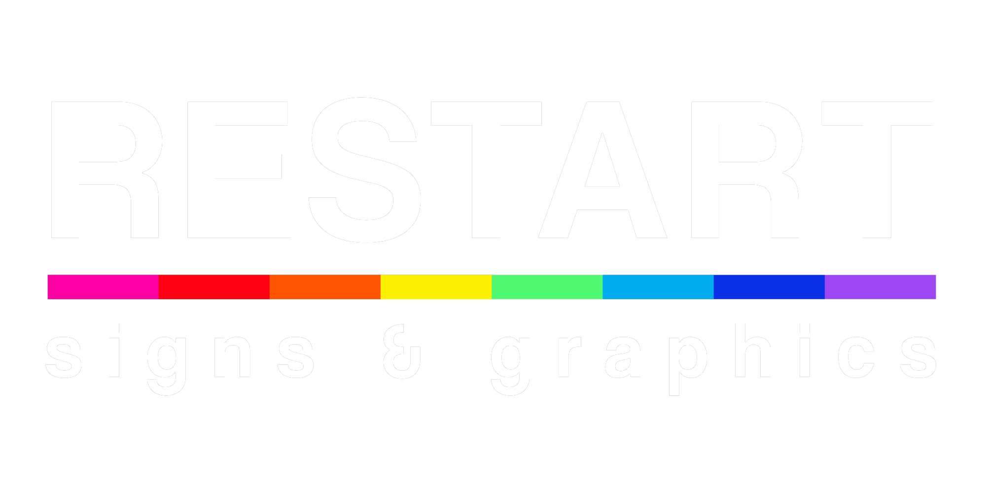 Restart Signs and Graphics